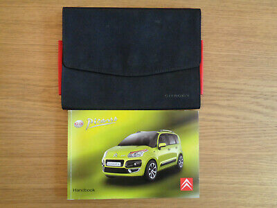 all models from 2008 to 2015 NEW Citroen C3 Picasso Car Owners Handbook Manual