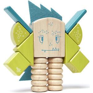 Tegu Magnetic Wooden Blocks Sticky Monsters Zip Zap Woodworking