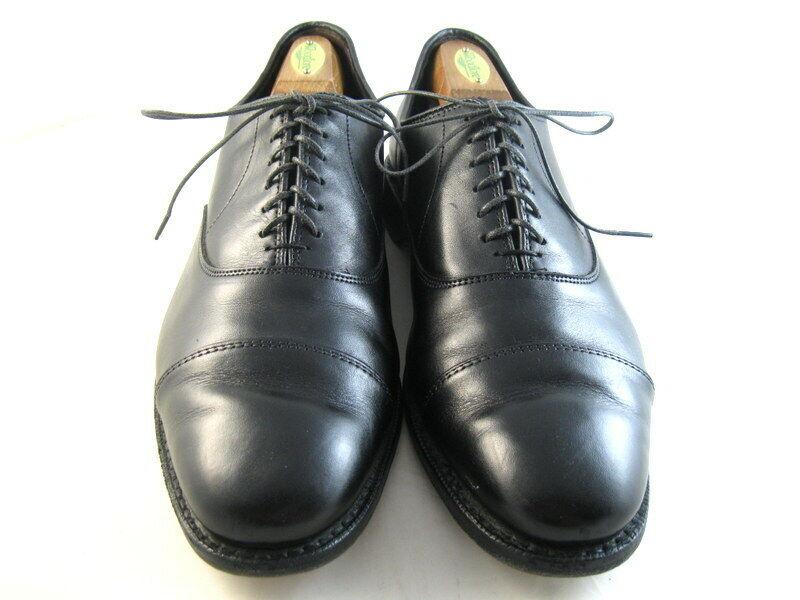 Allen Edmonds  The HOPKINSON  Cap-Toe Oxford 11 D Negro (1021)
