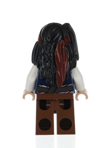 Lego Captain Jack Sparrow Cannibal 4182 Pirates of the Caribbean Minifigure
