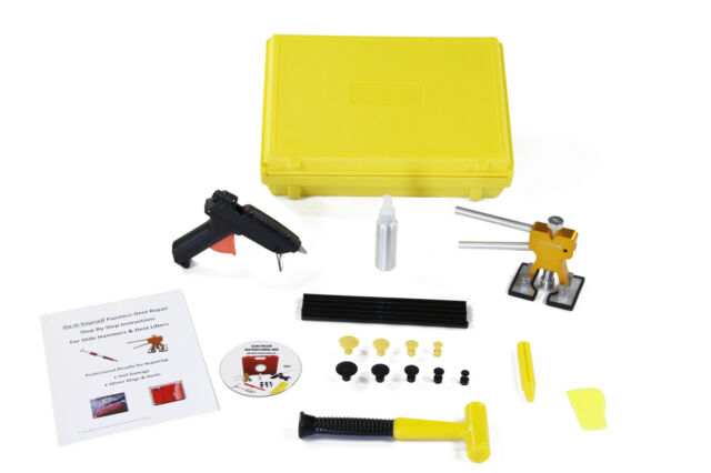 PDR Paintless Dent  & Hail Repair Removal Auto Body Glue Puller Kit w/FREE CASE