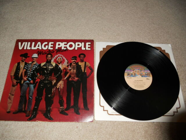 Village People Macho Man 1st Pressing, VG+, CLEAN, ORIGINAL LP!