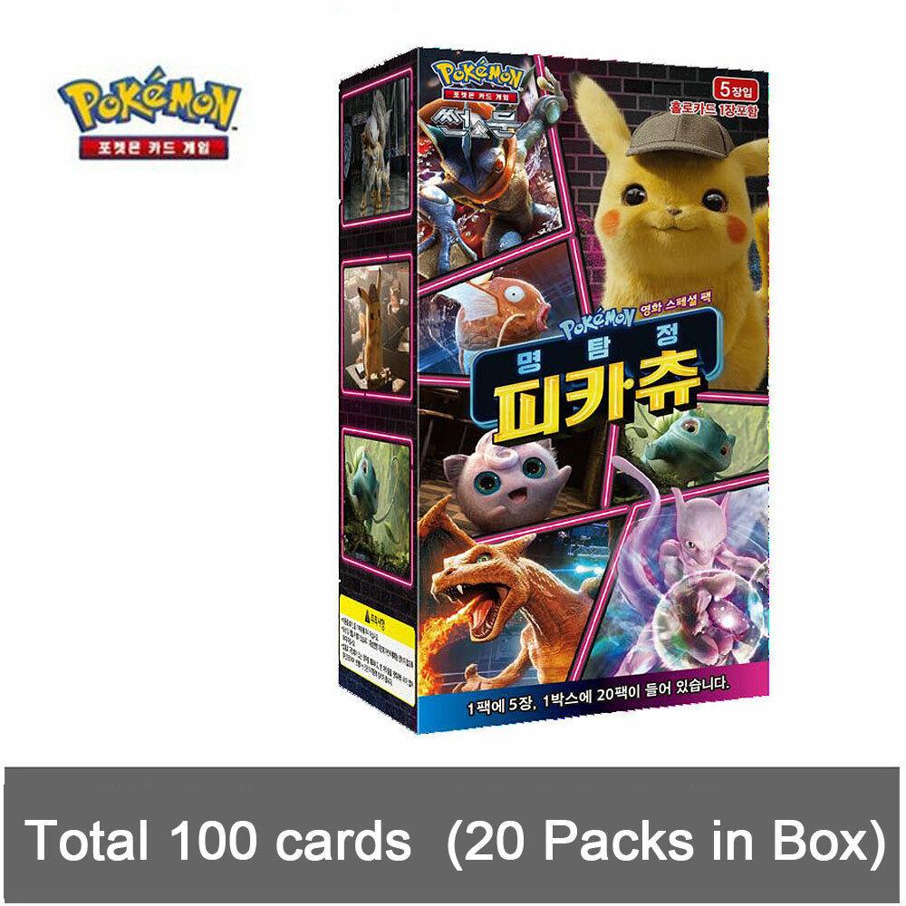 Pokemon Cards Echo Of Thunder sm8 explosive impact 1 Display Box Korean
