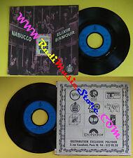 LP 45 7'OPERAS WALDO DE LOS RIOS Nabucco Elixir d'amour 1973 france no cd mc dvd