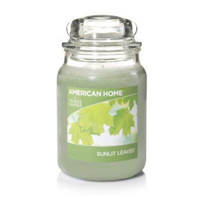 SUNLIT-LEAVES-YANKEE-CANDLE-JAR-FREE-SHIPPING-AMERICAN-HOME-FRESH-SCENT
