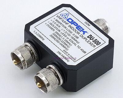 OPEK DU-500UM 2-Port HF-VHF including 222-225MHz // UHF ANTENNA DUPLEXER