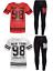 GIRLS-NEW-YORK-BROOKLYN-98-ATHLETIC-NET-TOP-amp-LEGGING-2-PIECE-SET-CASUAL-WEAR thumbnail 1