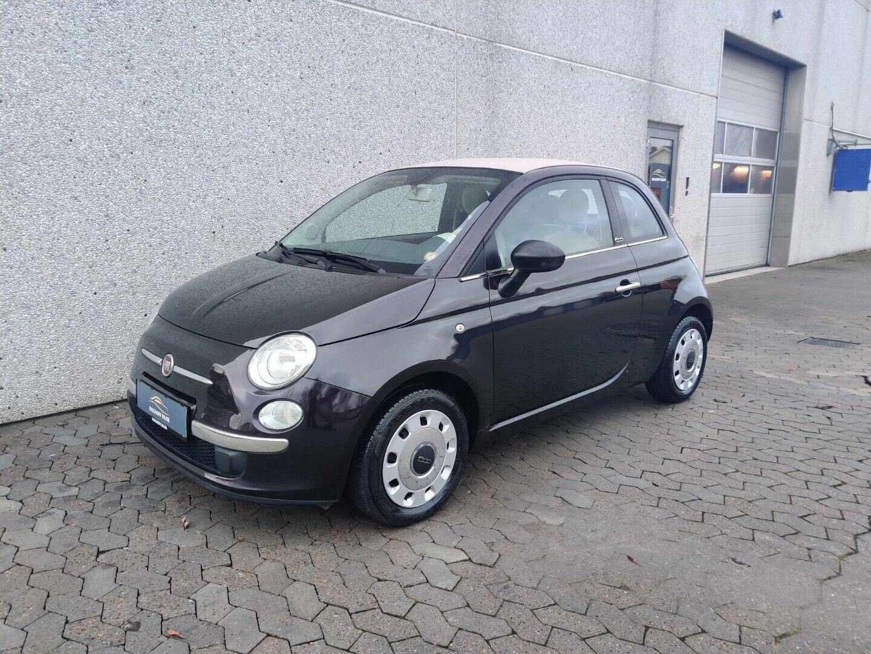 Fiat 500C 1,2 Pop 2d - 69.800 kr.