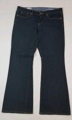 GAP 1969 WOMENS CURVY BOOT CUT VINTAGE DENIM BLUE JEANS 31//12 SOLD OUT  S//673948
