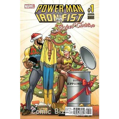 POWER MAN AND IRON FIST SWEET CHRISTMAS ANNUAL #1 (2016) EEDEN VARIANT COVER