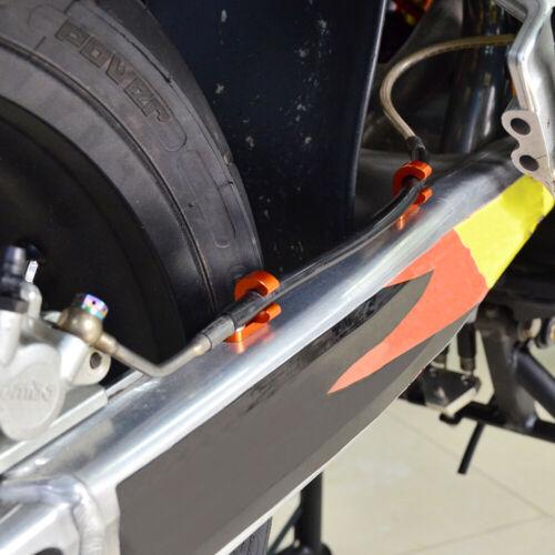 Rear Brake Line Clamp Mount For KTM 400 SX SXC SC RXC LC4 EXC Racing 1996-2007