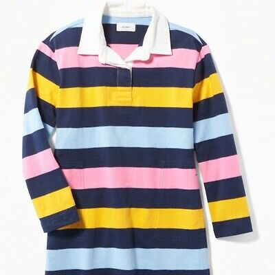 Gymboree BOYS Fall Winter NAVY Blue Red STRIPE Rugby SHIRT Top 4T 5T or 5 u pick