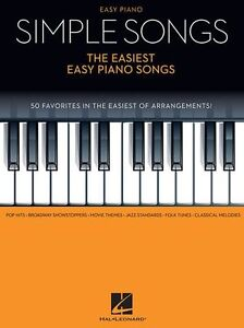 Details about Simple Songs Easiest Easy Piano Songs Tunes Learn to Play  Beginner MUSIC BOOK