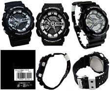 Casio G-Shock GA110BW-1A Black & White Fashionable Large Series Watch