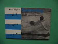 Vintage 1965 Know the Game: Swimming (Learn to Swim)