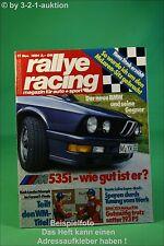 Rallye Racing 11/84 BMW 535i Porsche 928 Strosek Toyota