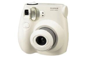 Polaroid Camera Urban Outfitters Uk : Fujifilm instax mini s instant film camera white no prints are