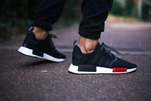 Image is loading Adidas-NMD-Runner-Boost-NMD-R1-Black-White-