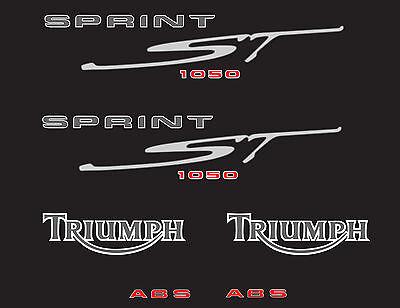 TRIUMPH SPRINT ST 1050 (2008-noire) STICKER DECAL MOTO aufkleber