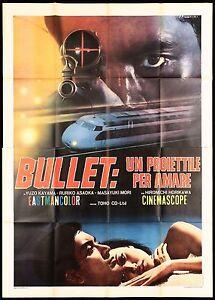 BULLET UN PROIETTILE PER AMARE MANIFESTO CINEMA FILM TOHO SPY MOVIE POSTER 4F - Italia - BULLET UN PROIETTILE PER AMARE MANIFESTO CINEMA FILM TOHO SPY MOVIE POSTER 4F - Italia