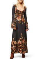 Free People Midnight Garden Maxi Dress RRP US$148