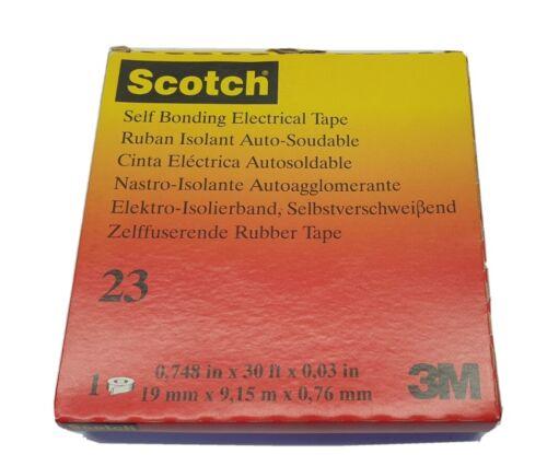 3M Scotch Rubber Splicing Tape 23-19mm x 9.15m x .76mm #23