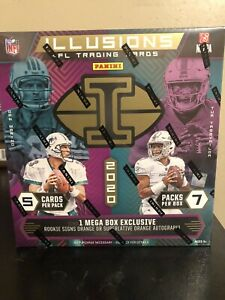 2020-Panini-NFL-Illusions-Football-Mega-Box-Factory-Sealed-IN-HAND