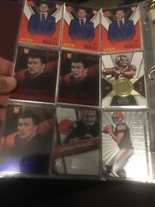 2014 Johnny Manziel 70 Card Rookie SP Lot Aggies Browns Texas A&M Heisman RC Lot