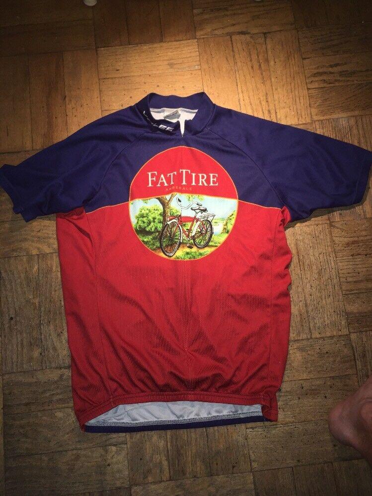 Voler Fat Tire  Mens Cycling Jersey Mens Large  deals sale