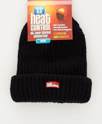 Hommes//Femmes Unisexe Hiver Chaleur Control Chapeau Noir ou Gris Noir Chaleur protéger Chapeaux