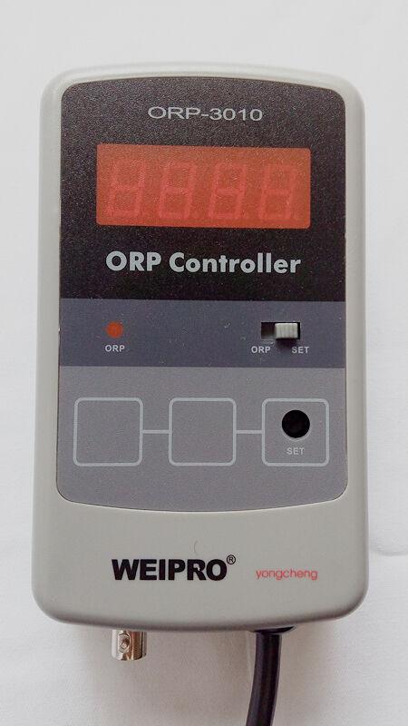 Quarium ORP Meter e controller Weipro ORP - 3010, lavorando con ozonizzatore
