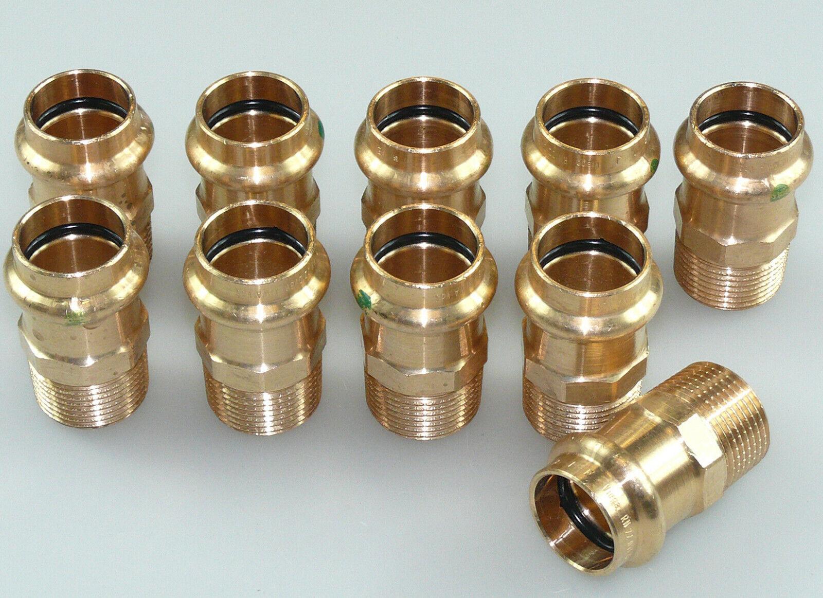 Pressfitting Kupfer Viega Profipress Übergangsnippel Außengewinde 12-54 mm