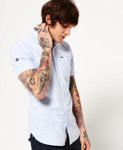Superdry-Hombre-Camisa-Ultimate-Oxford-Sky