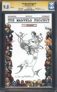 THE-MARVELS-PROJECT-1-CGC-9-8-SS-Cursed-Pirate-Girl-sketch-by-Jeremy-Bastian