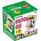 Fujifilm Instax Mini Instant Film 10 Sheets x 5 Packs For All Fuji Mini 8 Camera
