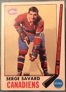 1969-70-Topps-4-SERGE-SAVARD-ROOKIE-NMT-Cond-BEAUTIFUL-CARD-c-photos-4-urself