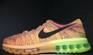 preview of new lifestyle better Details about 2014 NIKE AIR FLYKNIT MAX TOTAL ORANGE BLACK VOLT FIREBERRY  RACER 620469-801
