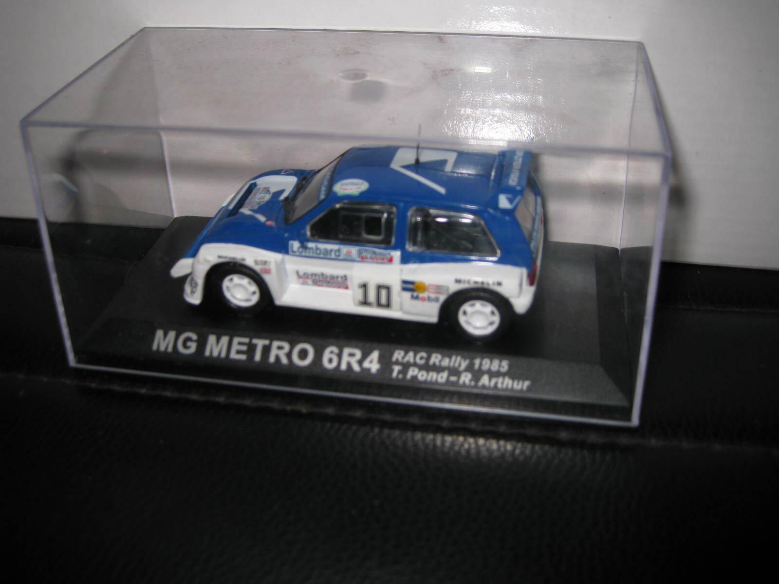 IXO ALTAYA MG METRO 6R4 #15 RAC RALLY 1986