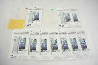 10x Clear Front+back Screen Protector Film Full Body For Apple Iphone 4 4s