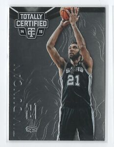 14-15-Totally-Certified-109a-Tim-Duncan-San-Antonio-Spurs-arms-extended