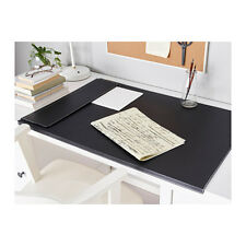 RISSLA Office Home Table Desk  Pad / MAT,Black,Computer Table PAD,86CM X 58CM