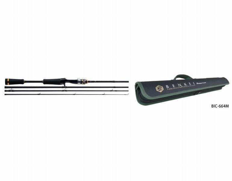Major Craft BENKEI BIC-704H Baitcasting Rod New