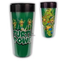 Teenage Mutant Ninja Turtles Licensed 16 Oz. Plastic Travel Mug on sale