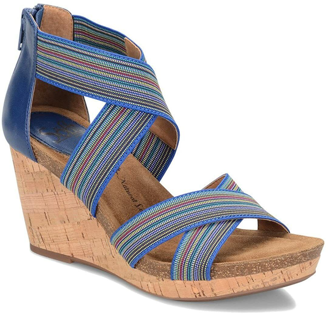 Sofft Cary Women's Blue Sandal NW/OB