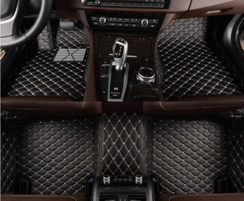 For Lexus GX460-2010-2017 leather Car Floor Mats Waterproof Mat
