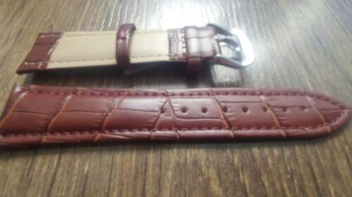 Genuine Leather Brown Strap Band Fits Jaeger LeCoultre Watches