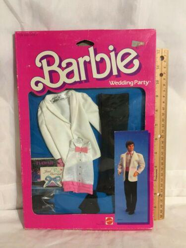 BARBIE ~ Mattel ~ WEDDING PARTY  # 7966 in Original Package Bar1