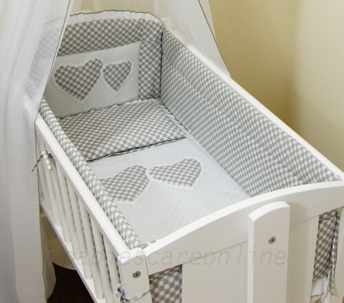 All round// all around Nursery bumper 260cm long// Paded// to fit Swinging Crib