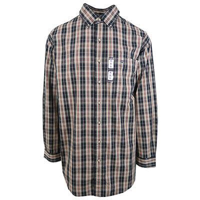 Carhartt Men's Beige Plaid L/S Woven Shirt XL-3XLT (Retail $45)