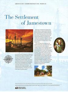 787-41c-Settlement-of-Jamestown-4136-USPS-Commemorative-Stamp-Panel